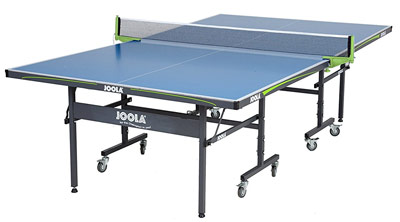 The Joola Outdoor pingpong is a step down from the Kettler but still a good option