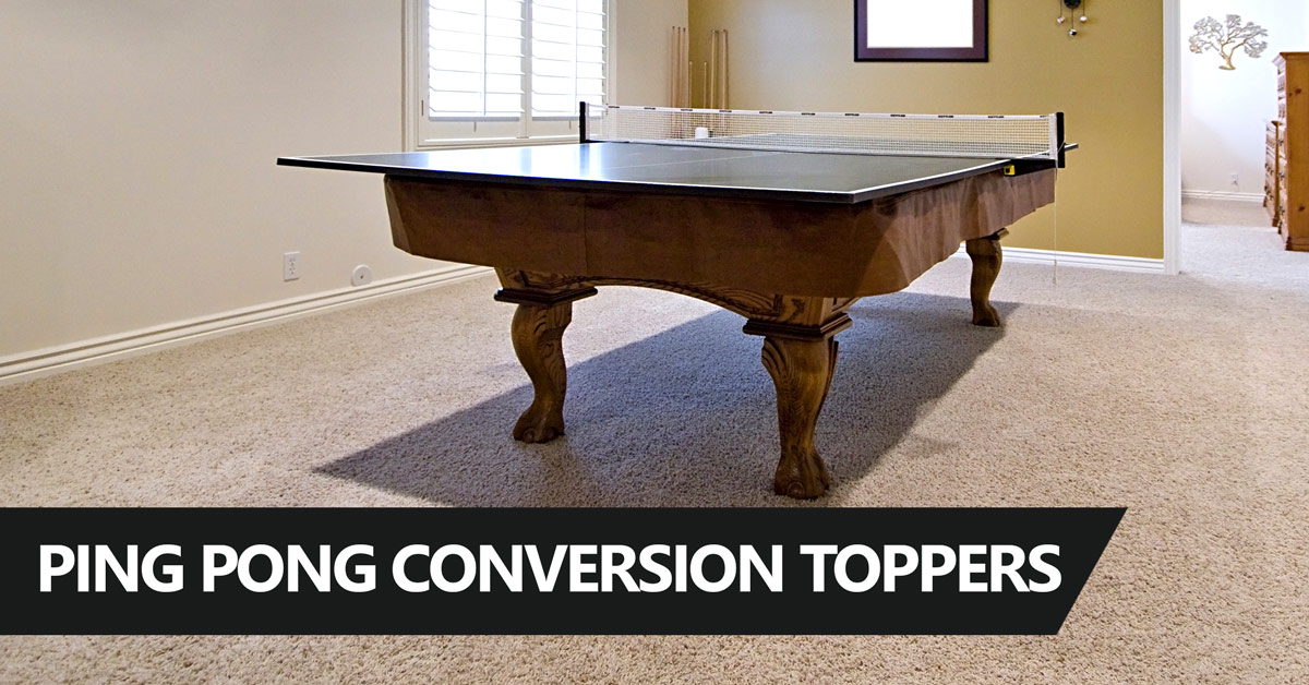 5 Best Ping Pong Table Tops For Pool Dining Tables 2019