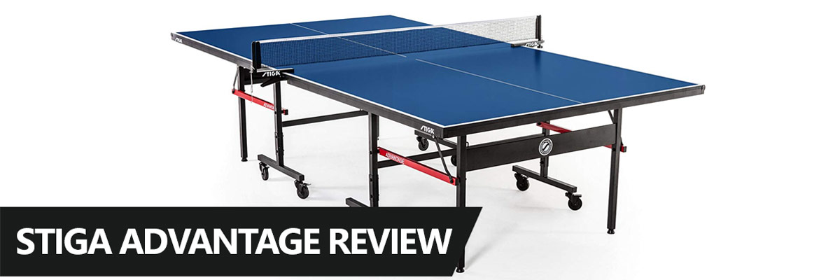 A review of the Stiga Advantage table tennis table